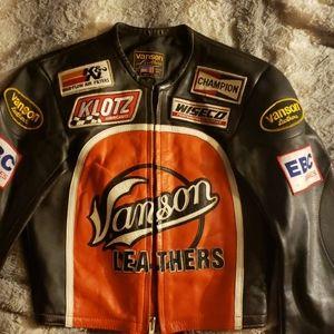Vanson leathers jacket